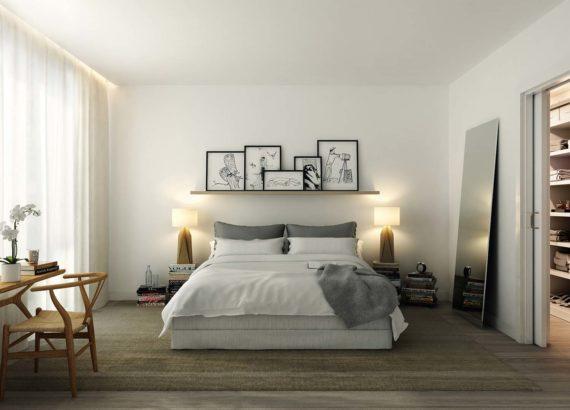 διακοσμηση του τοίχου του κρεβατιου