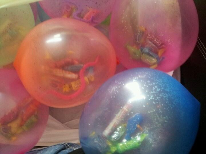 Μπαλόνια με λιχουδιές