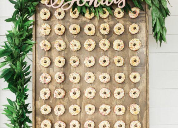 Πίνακας με donuts