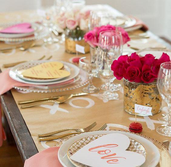 Γάμος σαν παραμύθι με θέμα την ημέρα του Αγίου Βαλεντίνου