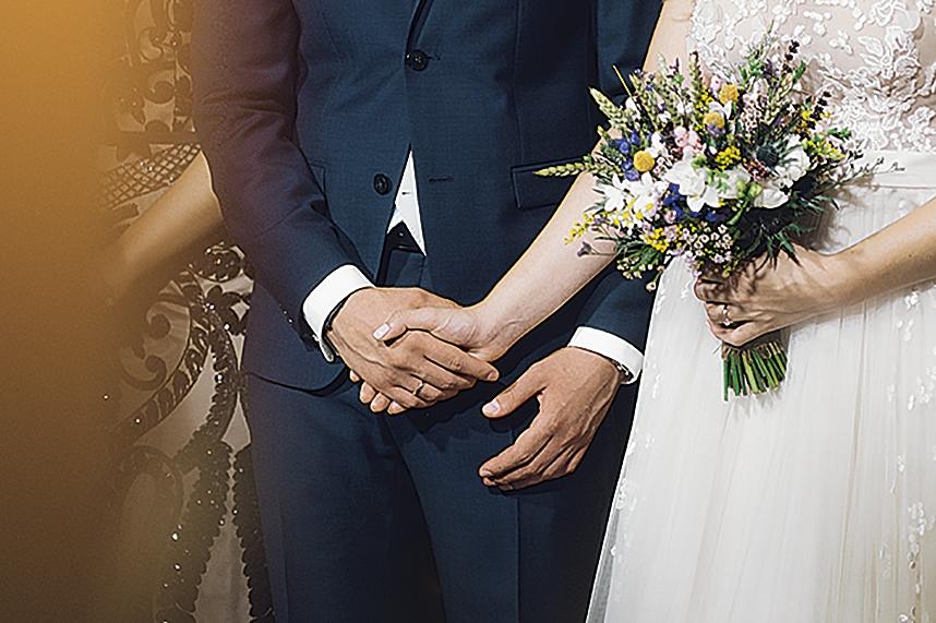 η ανθοδέσμη της νύφης