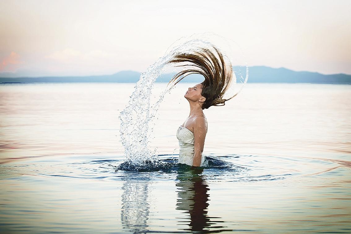 Μαγική φωτογράφηση μέσα στην θάλασσα