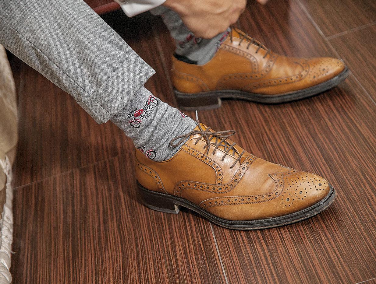 παπούτσι του γαμπρού