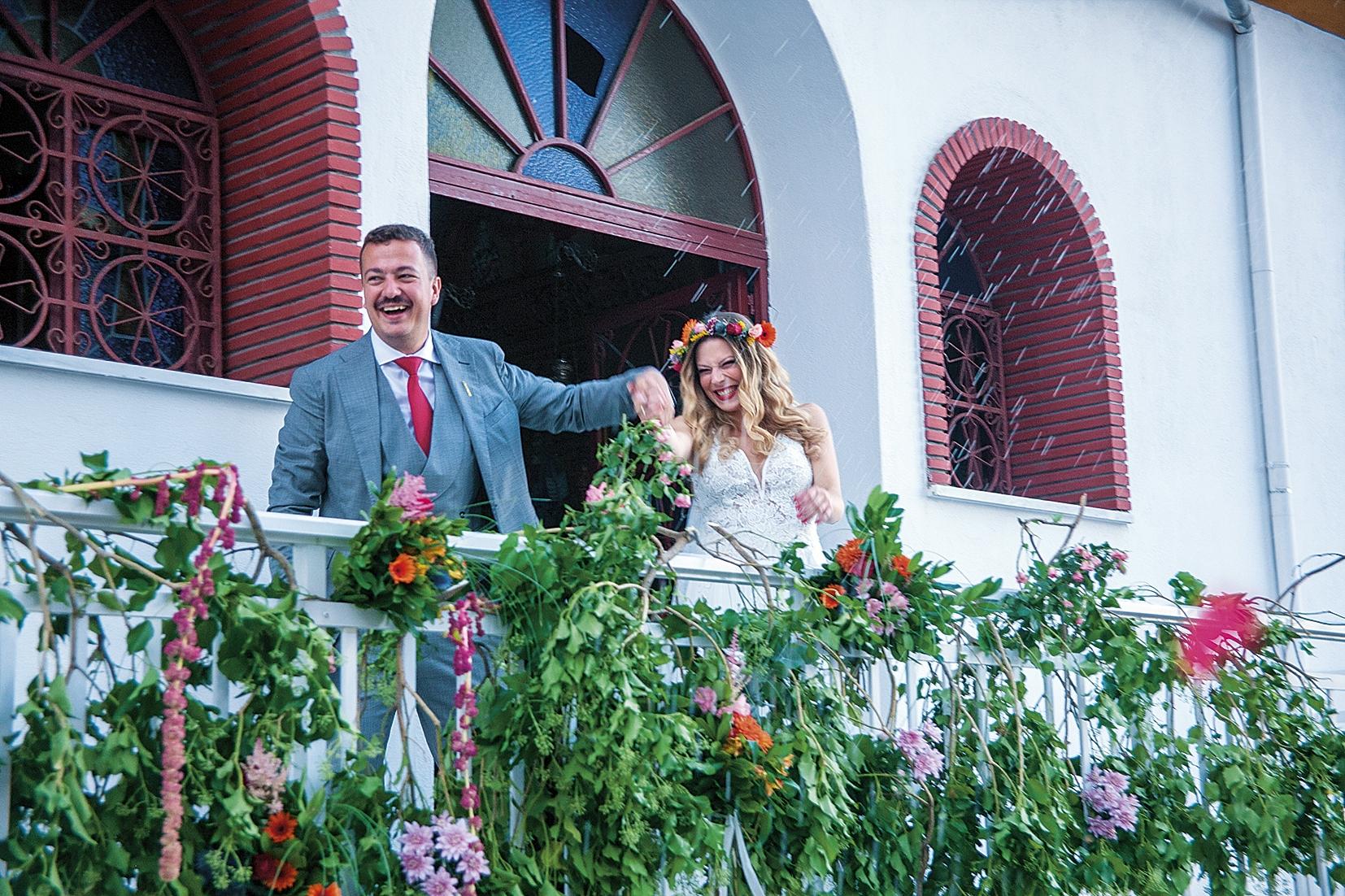 Ελισάβετ & Θεόδωρος  ονειρεμένος country γάμος
