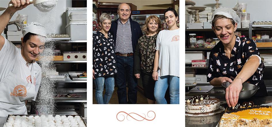 patisserie Σιδηρόπουλος- οι ιδικοί στα γλυκά και στην γαμήλια τούρτα
