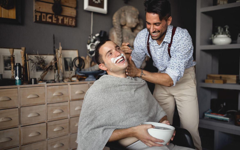 το party που έγινε την ώρα που ξυρίζουν τον Marcello