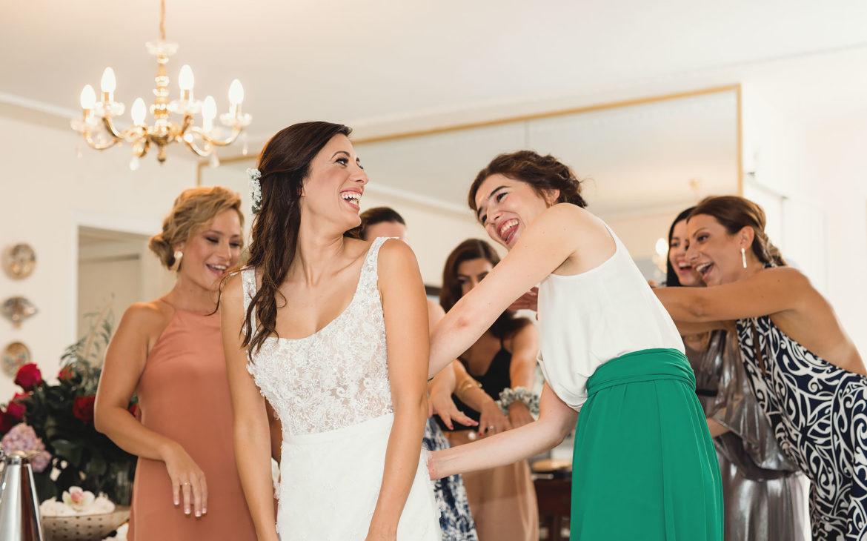 η προετοιμασία της νύφης