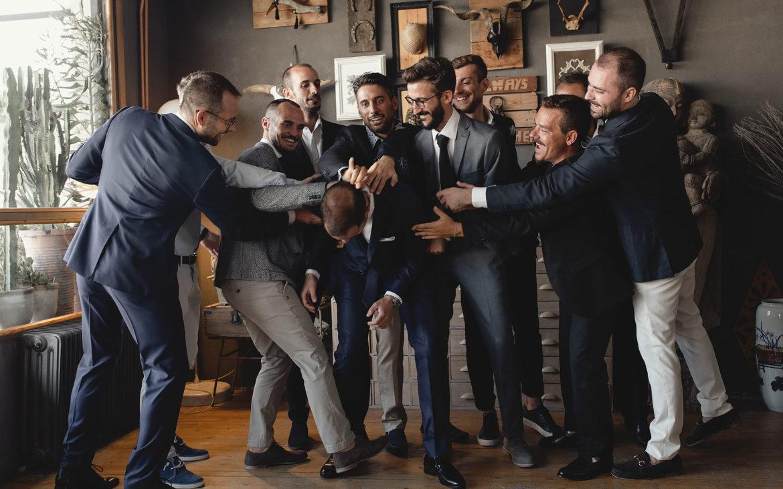 το party που έκαναν οι φίλοι του γαμπρού