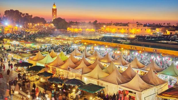 πλατεία Djemaa El Fna