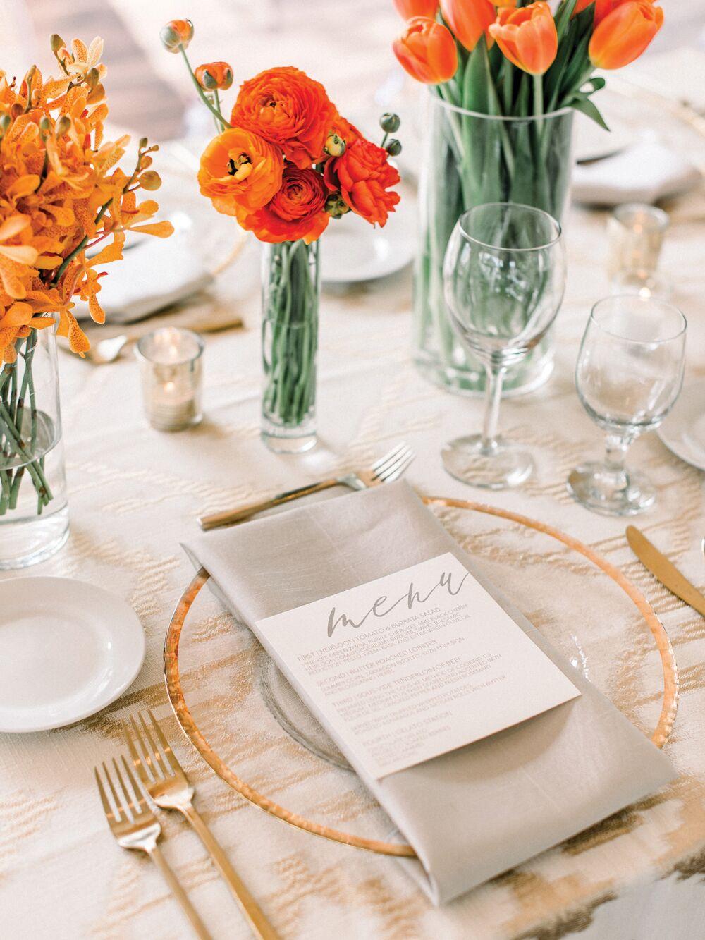 Ποικιλία στο μενού, wedding trends