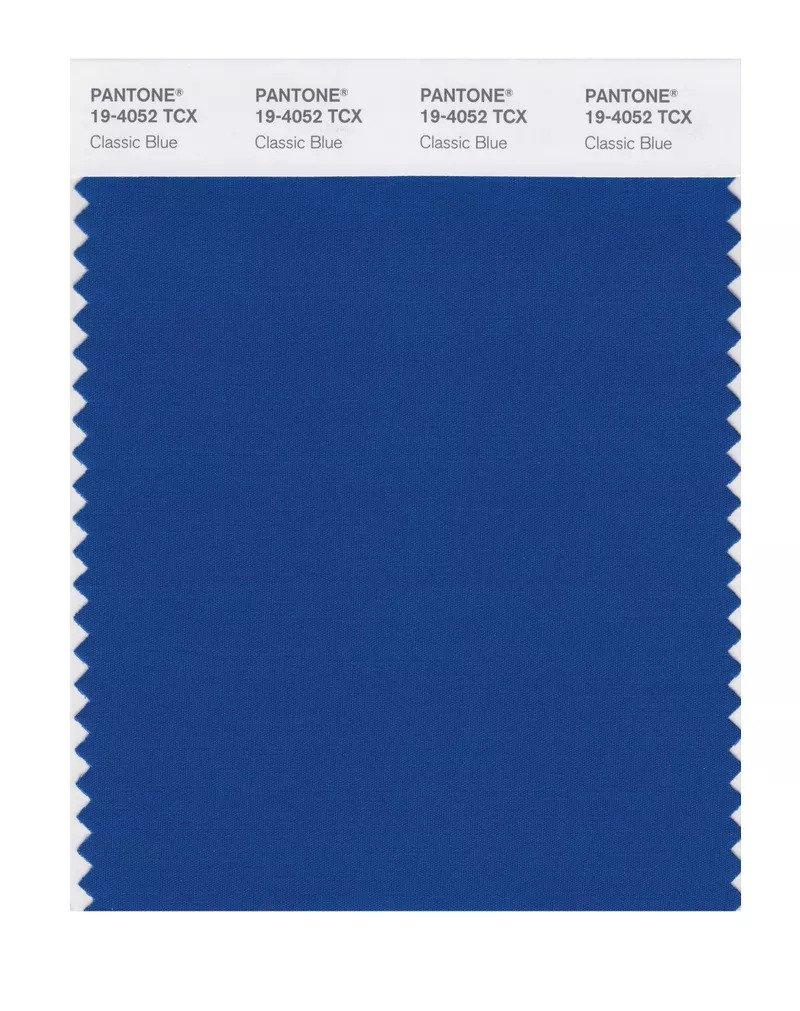κλασικό μπλε χρωμα